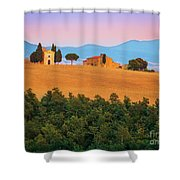 Val D'orcia Serenity Shower Curtain