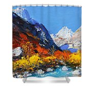 Valbona Shower Curtain