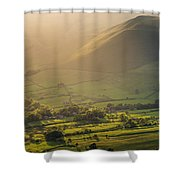 Vale Of Edale Shower Curtain