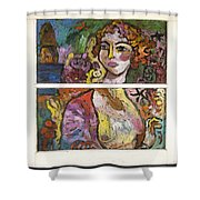 Valencia Shower Curtain
