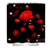 Valentine - Roses Shower Curtain