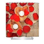 Valentine Mood Shower Curtain