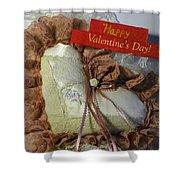 Valentines Card 1 Shower Curtain