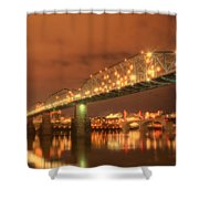 Valentine's Day In Chattanooga Shower Curtain