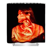 Valerie Shower Curtain by Arla Patch