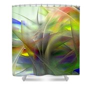 Veils Of Color 2 Shower Curtain