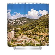 Valldemossa View From The Town Shower Curtain