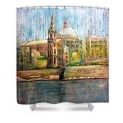 Valletta Icon Shower Curtain