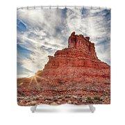 Valley Butte Shower Curtain