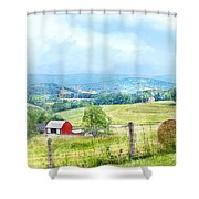 Valley Farm Shower Curtain