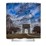 Valley Forge Shower Curtain