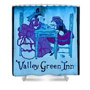 Valley Green Inn Shower Curtain