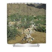Valley Of Dead Men's Bones Shower Curtain