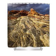 Valley Of Fire 1 Shower Curtain