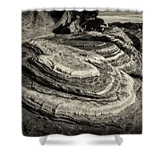 Valley Of Fire 3158 Shower Curtain