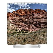Valley Of Fire IIi Shower Curtain