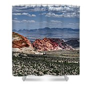 Valley Of Fire Iv Shower Curtain