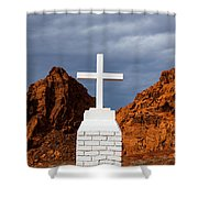 Valley Of Fire State Park Clark Memorial Shower Curtain
