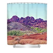 Valley Of Fire State Park, Nevada Shower Curtain
