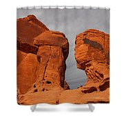 Valley Of Fire State Park Seven Sisters Shower Curtain