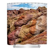 Valley Of Fire Shower Curtain