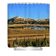 Valley Of Ghosts Shower Curtain