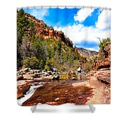 Valley Of Life Shower Curtain