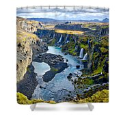 Valley Of Tears #2 - Iceland Shower Curtain