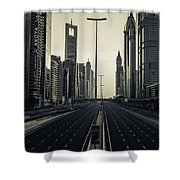 Valley Of The 11 Shower Curtain
