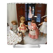 Valley Of The Dolls Shower Curtain
