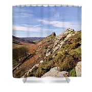 Valley Of The Rocks Shower Curtain