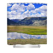 Valley Of The Serpent Shower Curtain