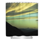 Valley Of The Shadow Shower Curtain