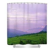 Valley Of Vineyards Shower Curtain