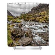 Valley Stream Shower Curtain