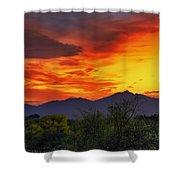Valley Sunset H32 Shower Curtain