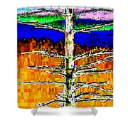 Valley View 1 Shower Curtain