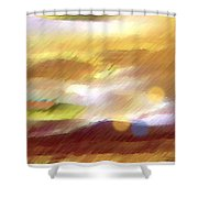 Valleylights Shower Curtain