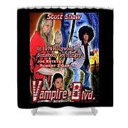 Vampire Blvd.  Shower Curtain