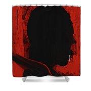 Vampire Shower Curtain