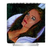 Vampiress Shower Curtain