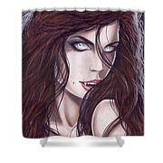 Vampiress Shower Curtain