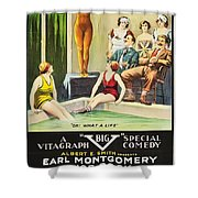 Vamps And Variety 1919 Shower Curtain