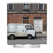 Van And Shop Shower Curtain