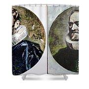 Van Dyck Nicholas Rockox Shower Curtain
