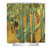 Van Gogh: Alyscamps, 1888 Shower Curtain