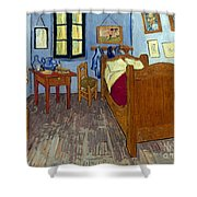 Van Gogh: Bedroom, 1889 Shower Curtain