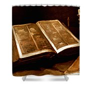 Van Gogh: Bible, 1885 Shower Curtain