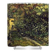 Van Gogh: Hospital, 1889 Shower Curtain