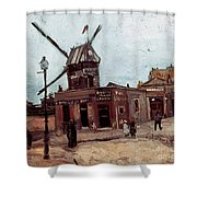Van Gogh: La Moulin, 1886 Shower Curtain